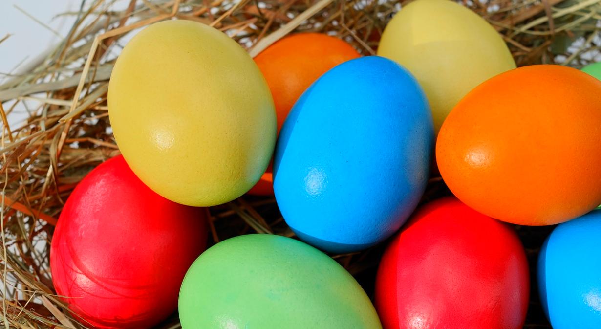barevná vejce