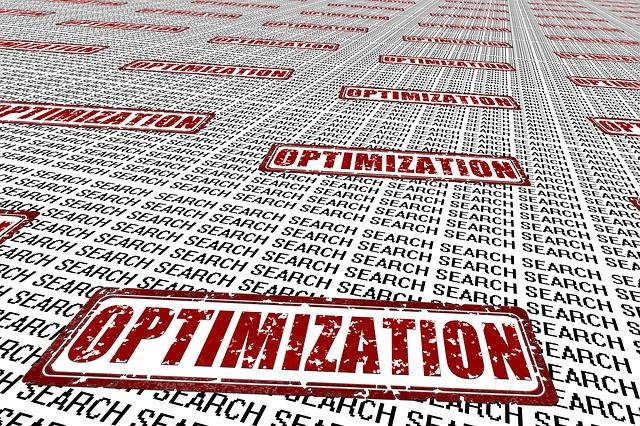 vyhledávač, optimization