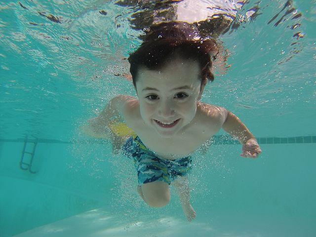 kluk pod vodou