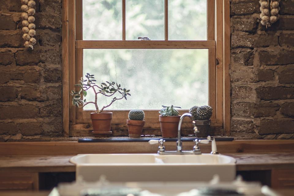 kuchyně okno