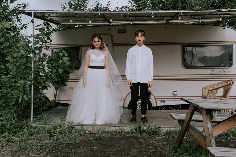 svatební mobilní dům